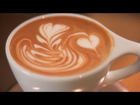 rainbow latte art tutorial