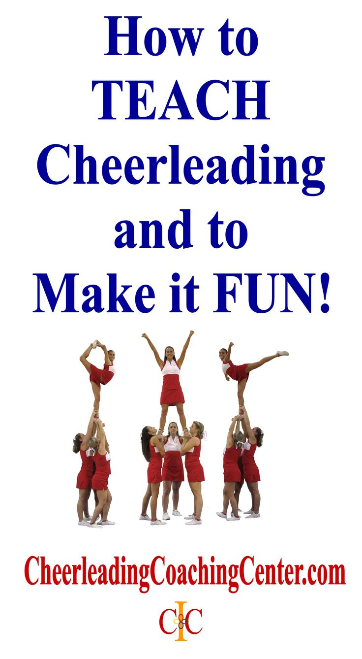 Would you LOVE some EASY tips to help you Teach Cheerleading?  Join the #1 Cheerleading Coaching Resource TODAY at CheerleadingCoachingCenter.com