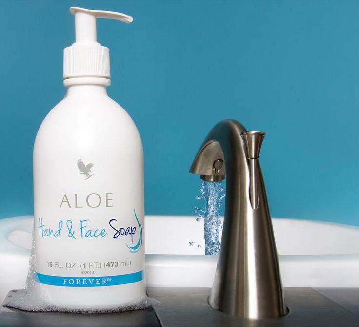 Forever Aloe Hand & Face Soap (Υγρό σαπούνι από αλόη, με ισορροπημένο pH) €15,09