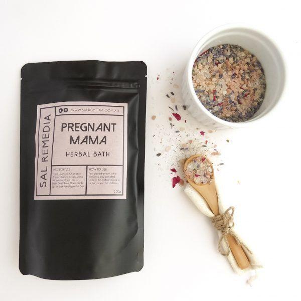 Pregnant Mama Herbal Bath