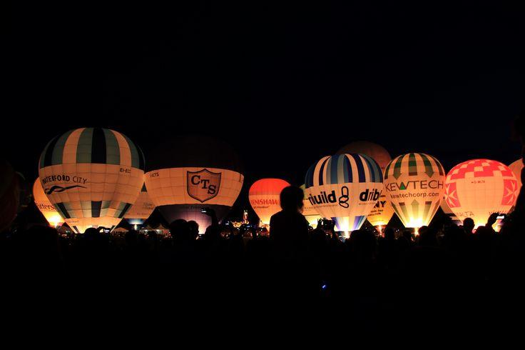 #Bristol Balloon Fiesta. Night Glow.