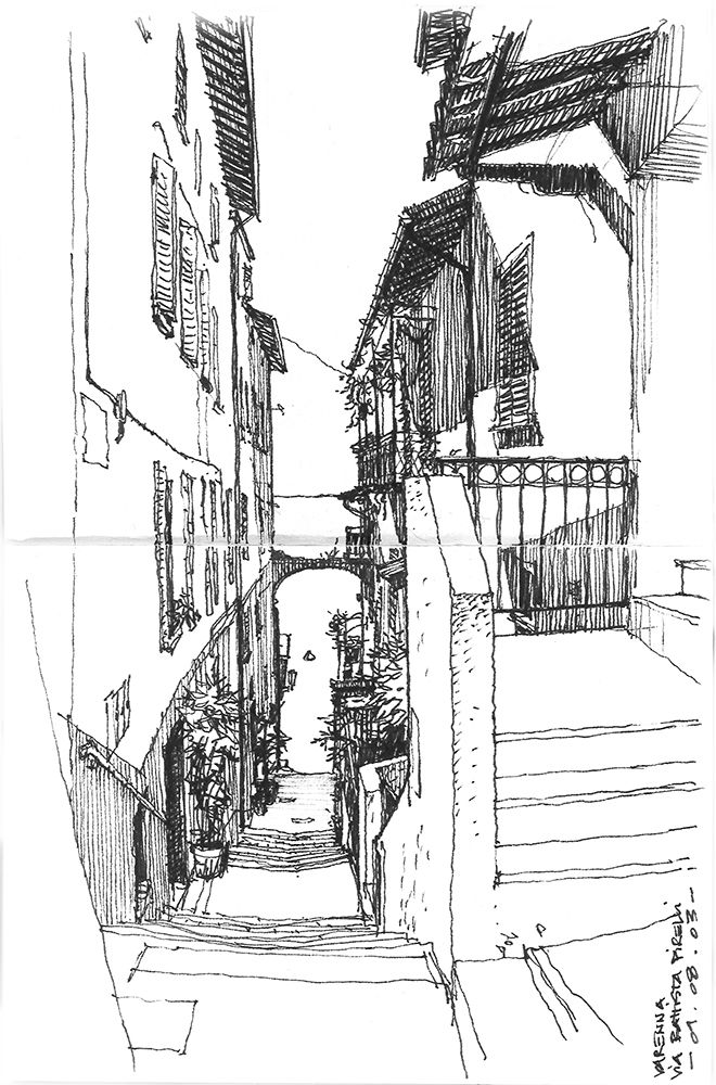 SKETCHING THE PLACE # urban sketching