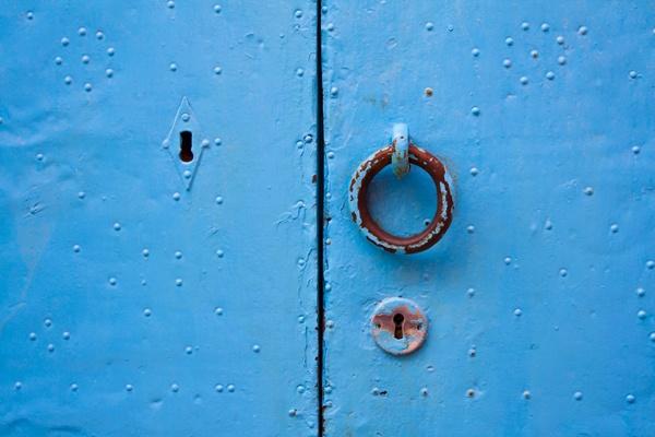 Santorini Island, Cyclades,Greece, Thira, Blue Door, Amazing Greece, Удивительная Греция