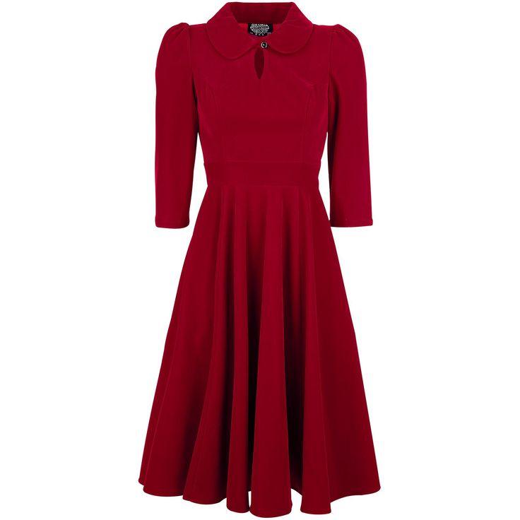 Glamourous Velvet Tea Dreams Dress - Sukienka Medium - H&R London