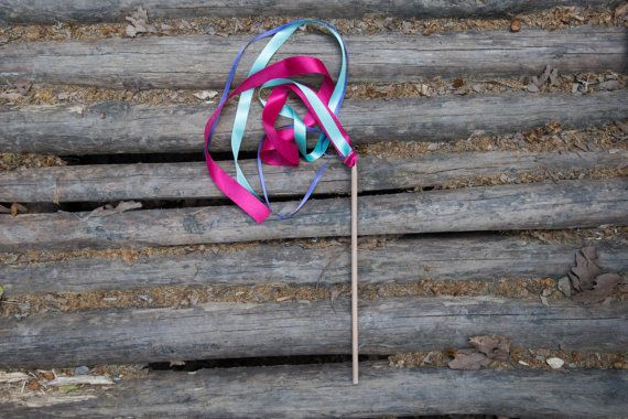 20 Ribbon Wands  Birthday Party Favors  Birthday by beigebois
