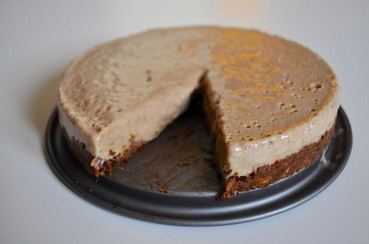 Zdravá nepečená banánová torta — Bratilicious
