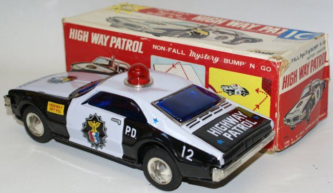 HIGHWAY PATROL Police Car by Illco / Taiyo, Japan