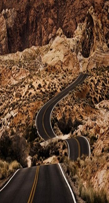I would love to drive on this road!!