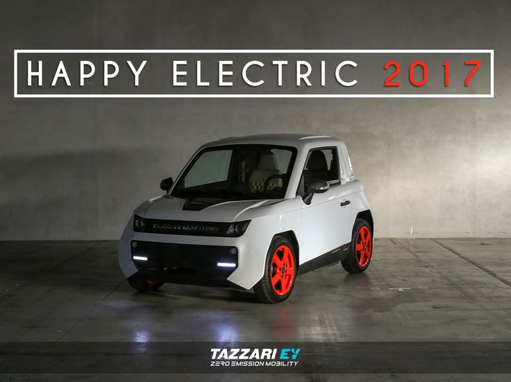 Tazzari EV wishes you an electrifying 2017!