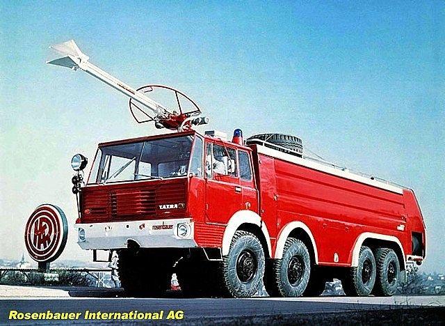 Tatra T813 8x8 SLF 18000 Rosenbauer