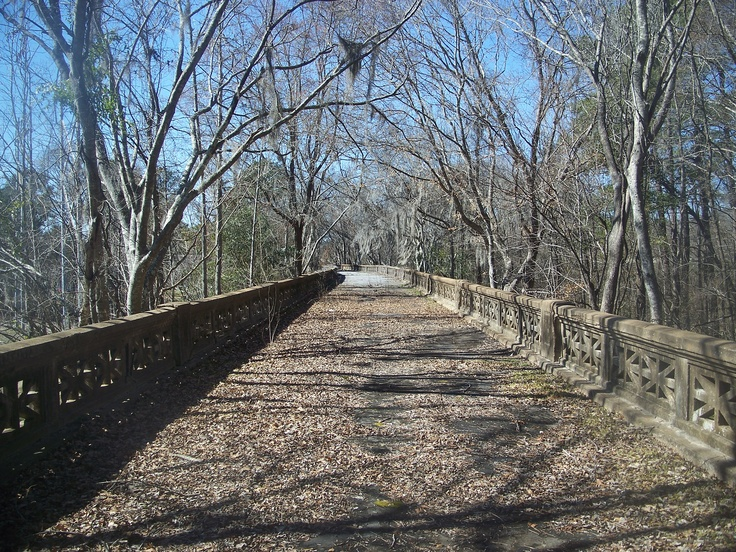 Old Hwy 90 bridge at Chattahoochee... nice to explore as a side trip on backroads