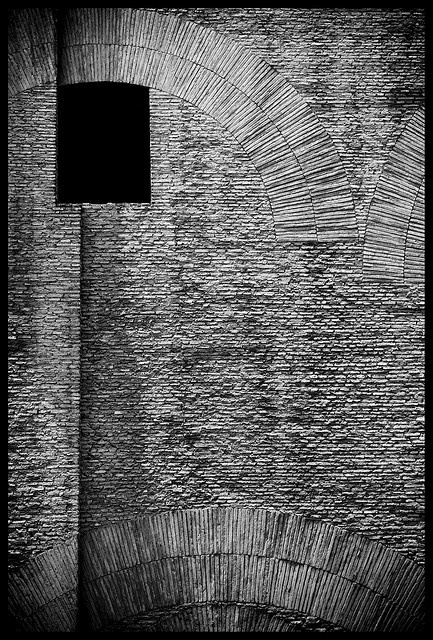 Nick Worley, Opening on the eastern facade of The Pantheon, Rome.