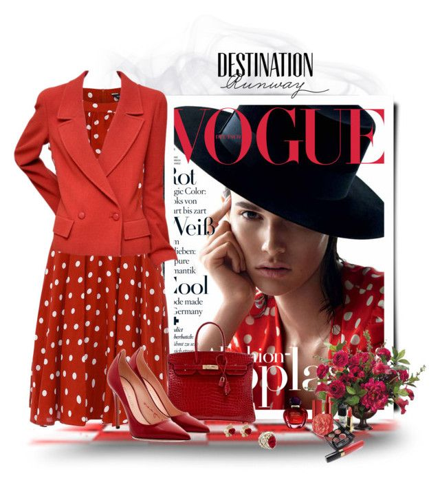 The lady in red by akhesa10 on Polyvore featuring moda, Dorothy Perkins, Chanel, Tamara Mellon, Hermès, Kat&Bee, NARS Cosmetics, Christian Dior, Allstate Floral and Bebe