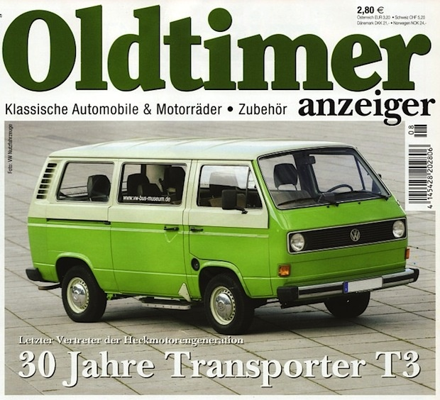 30 years VW T3 - even though the square lights are my favourite it's a good colour