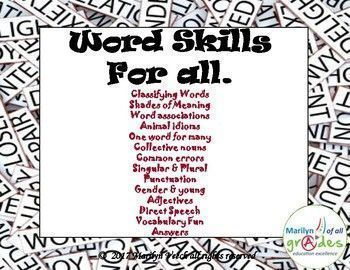 Word Skills for All.