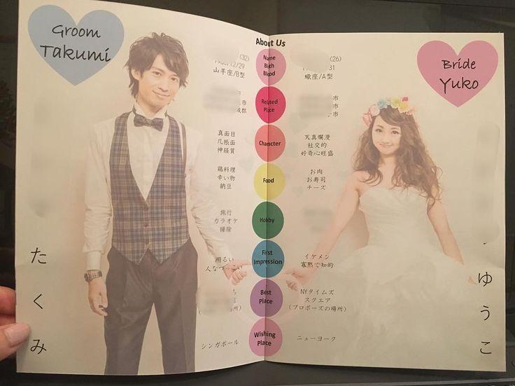 結婚式プロフィールブックの新郎新婦の紹介質問事項まとめ | marry[マリー]