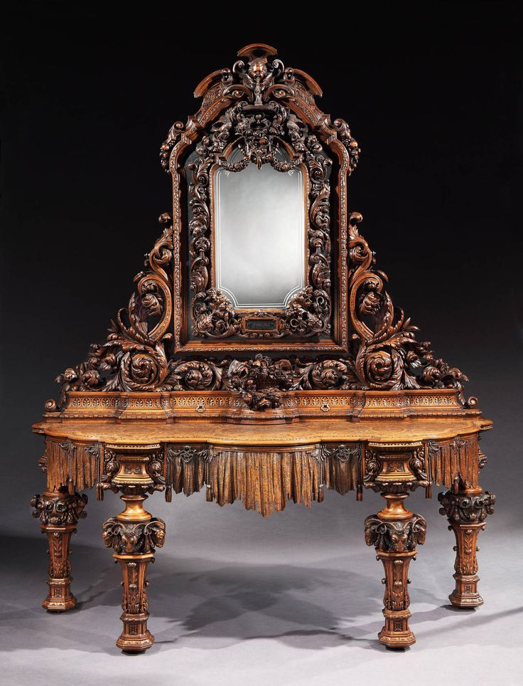 Amazing Truly Remarkable Italian Carved Sideboard, 1878
