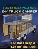 How To Build Your Own Homemade DIY Truck Camper | Mobile Rik - Living Off The Grid In A DIY RV Truck Camper