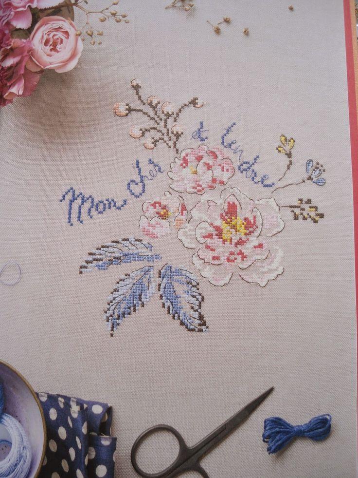 moje hand made le langage des fleurs helene le berre helene le berre pinterest hands. Black Bedroom Furniture Sets. Home Design Ideas