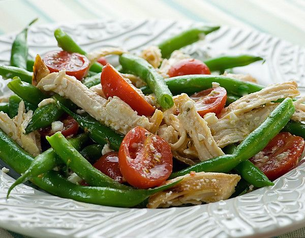 Mediterranean Chicken Salad...easy and healthy and scrumptious.