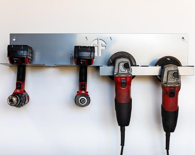 20 Can Spray Paint Or Lube Can Wall Mount Storage Holder Rack Etsy In 2020 Tool Storage Diy Cordless Drill Tool Holder