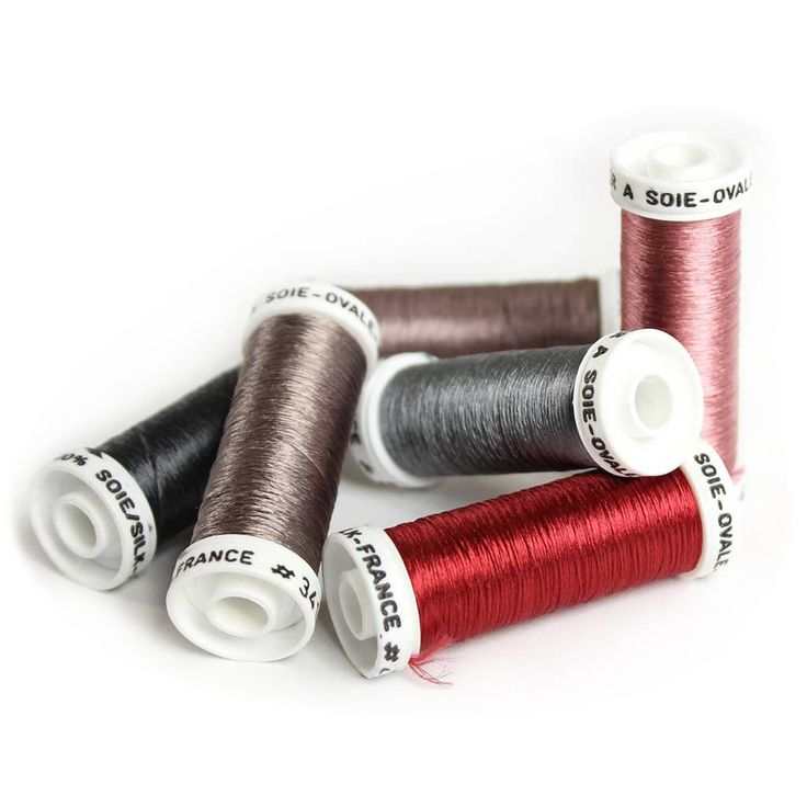 Au Ver à Soie Pure Silk Ovale Thread for Hand Embroidery - VINTAGE