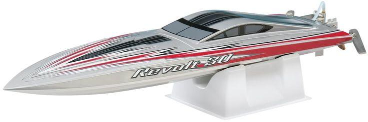 The Aquacraft Revolt 30 looks fast — even when it's on display!  http://www3.towerhobbies.com/cgi-bin/wti0001p?&I=LXBXEP**&P=ML