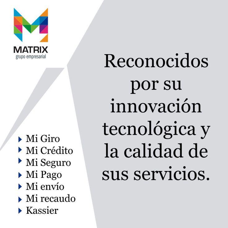 Juntos estamos haciendo lo extraordinario, en #matrix contamos con una red transaccional ágil e innovadora. ¿Qué esperas para probarla? #seguridad #responsabilidad #confianza http://www.grupomatrix.co/