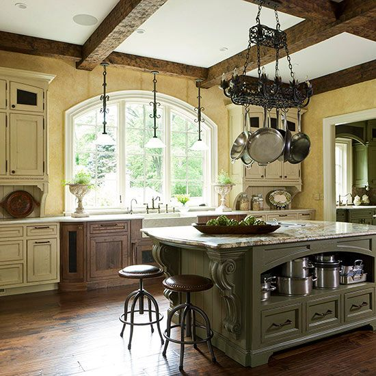 Decorating Kitchen Colors: Textured Wallpaper, Other And Colors