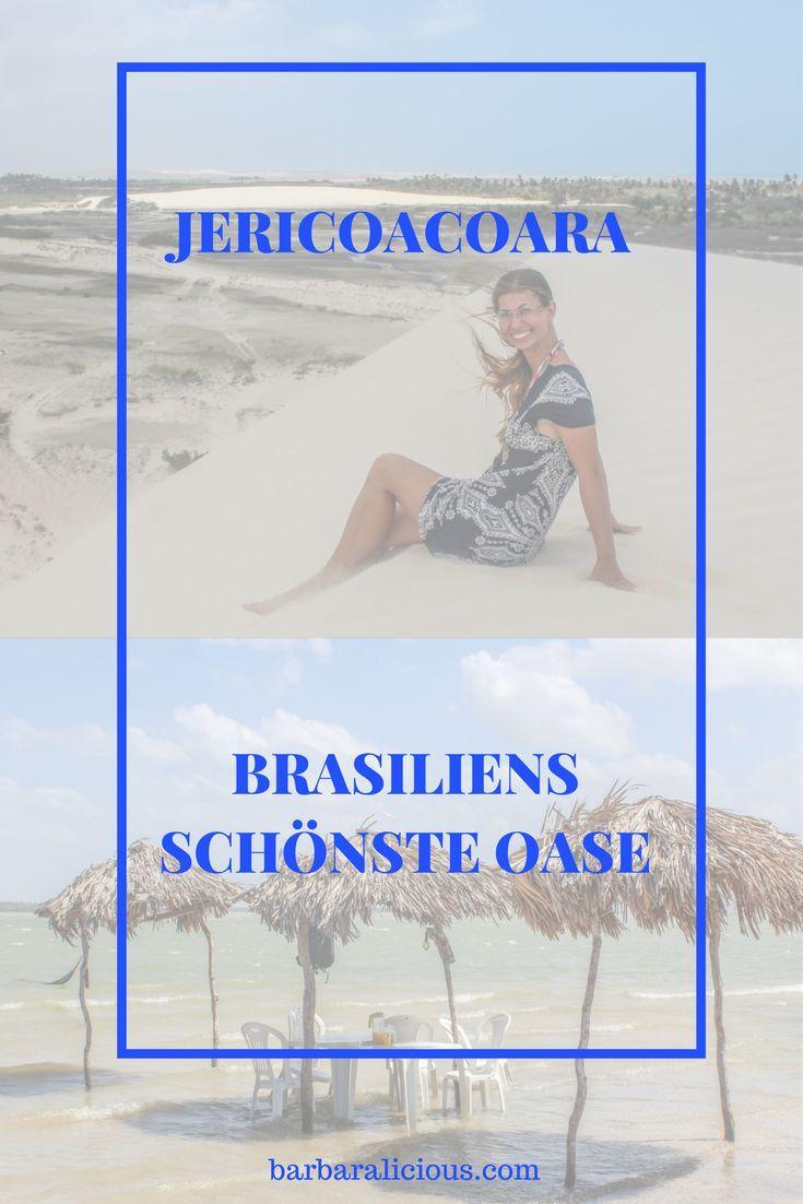 Jericoacoara ist ein Dorf im Norden Brasiliensinmitten von Wanderdünen, das aus fünf Straßen besteht – keine gepflasterten oder asphaltierten. Sie sind einfach aus Sand.