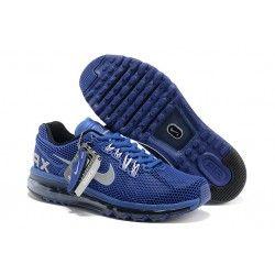 cheap Mens Nike Air Max 2014 Shoes_Deep Blue on sale