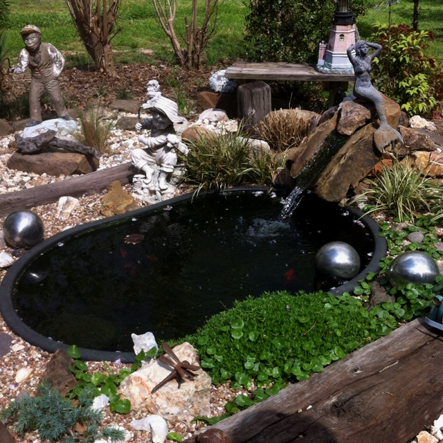 Fish Ponds And Water Gardens: A Collection Of Home Decor