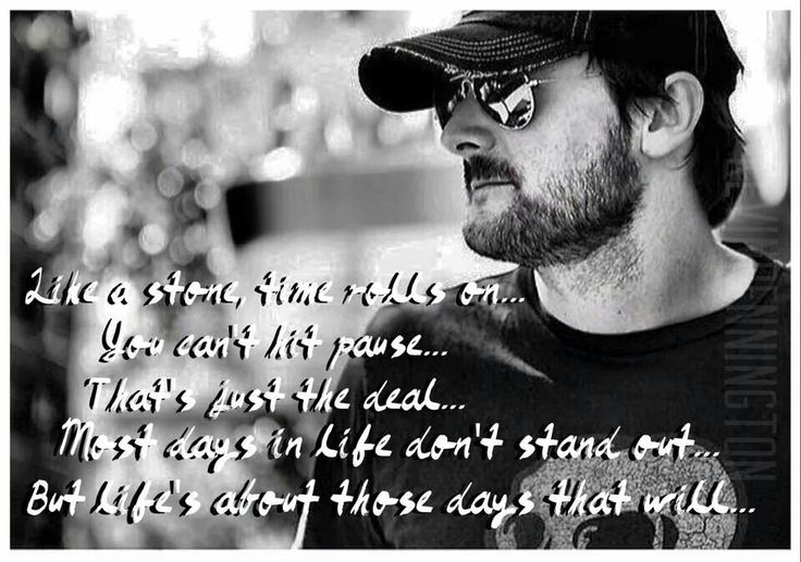 Made especially for me by a fellow Church fan, Kevin Pennington,  with my favorite lyric. Talladega - Eric Church