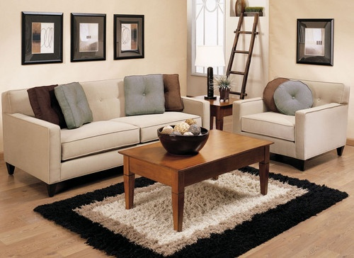 Organizing small living spaces with rental furniture for Organizing living room furniture