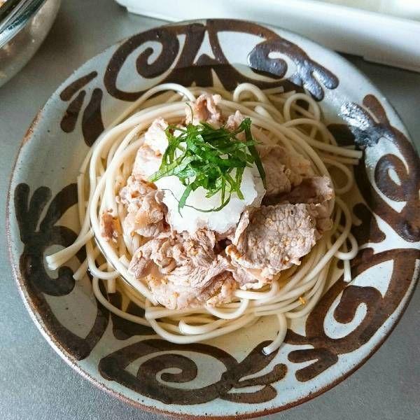 茅乃舎だし!ピリ辛ぶたの冷しおろし麺 by sumisumi : 豚肉、大根おろし | レシピサイトNadia | ナディア