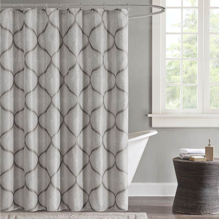 Set the tone for a tastefully modern master bathroom with this Vella shower  curtain from Madison Park. - Best 25+ Madison Park Shower Curtain Ideas On Pinterest Gray
