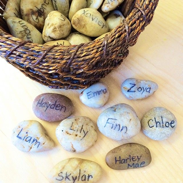 Arrival stones shared by Joanne Babalis.