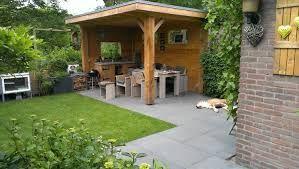 Afbeeldingsresultaat voor overkapping tuin