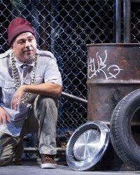 Rubén C. González in Arizona Theatre Company's LA ESQUINITA, USA. Photo by Tim Fuller.