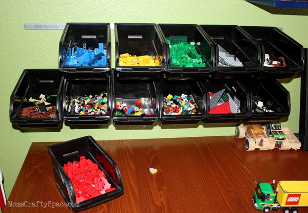 Cheap & Easy LEGO Storage Organizer - Happiness is Homemade