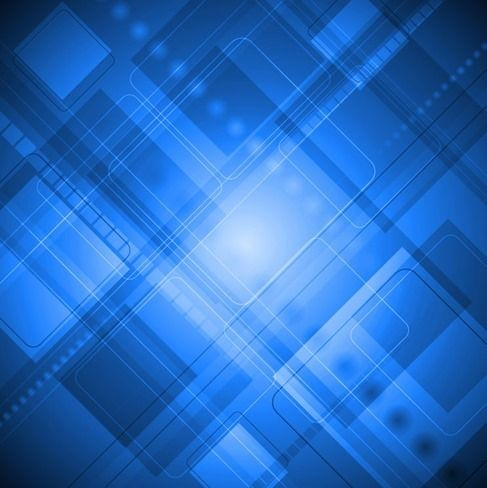 Free vector Blue Abstract Design Art Background #5084