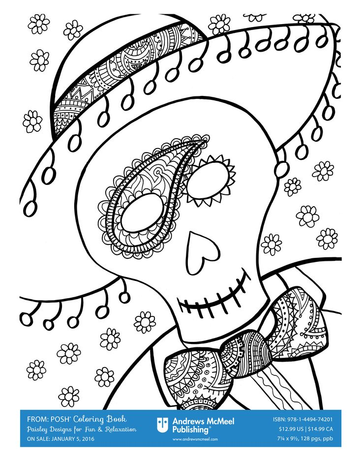Happy Halloween from Posh Coloring! We are loving these