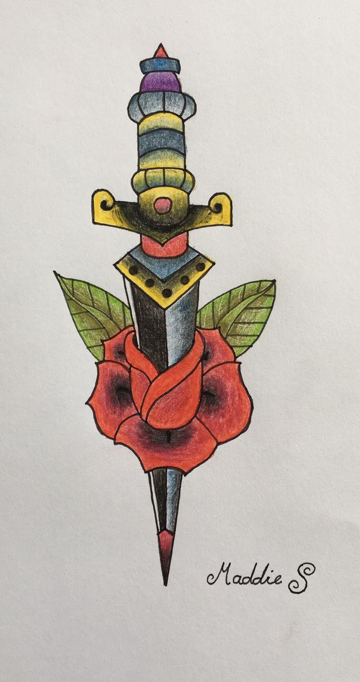 Rose dagger