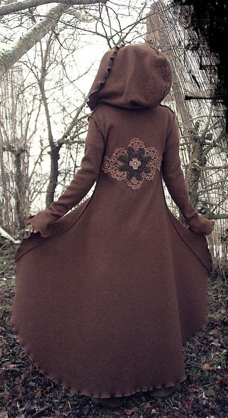 ~ hooded elven coat ~