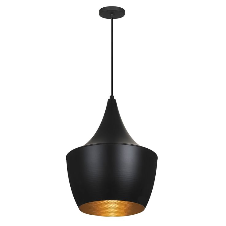 Verve Design 22cm 60W Black Saja Pendant Lamp $70 Bunnings