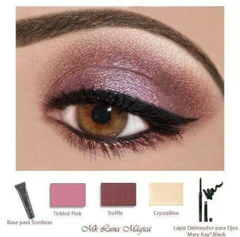 Beautiful Eye look. Visit my website www.marykay.com/sperez-colon or send me a message ..