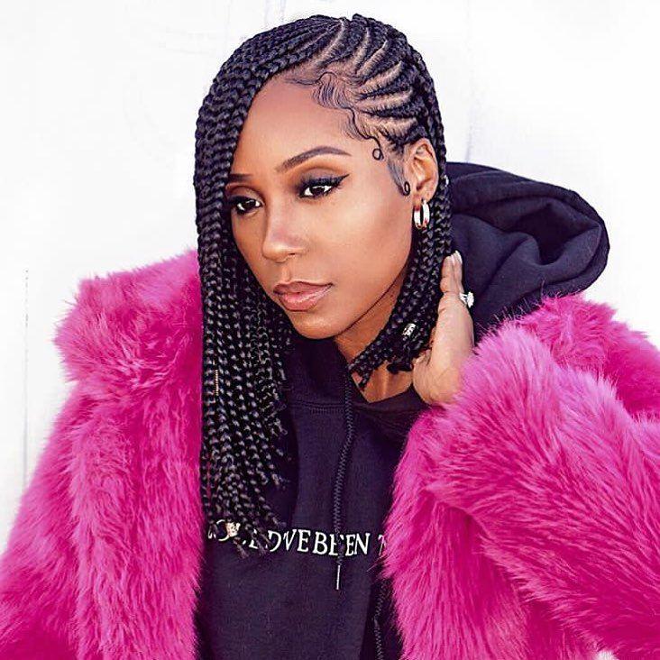 Ma Coiffeuse Afro On Instagram I N S P I R A T I O N Khatbrim Ma Coiffe Tresse Africaine Cheveux Court Model De Coiffure Africaine Coiffure Natte