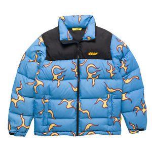 Golf wang flame puffer jacket  3d38a8869