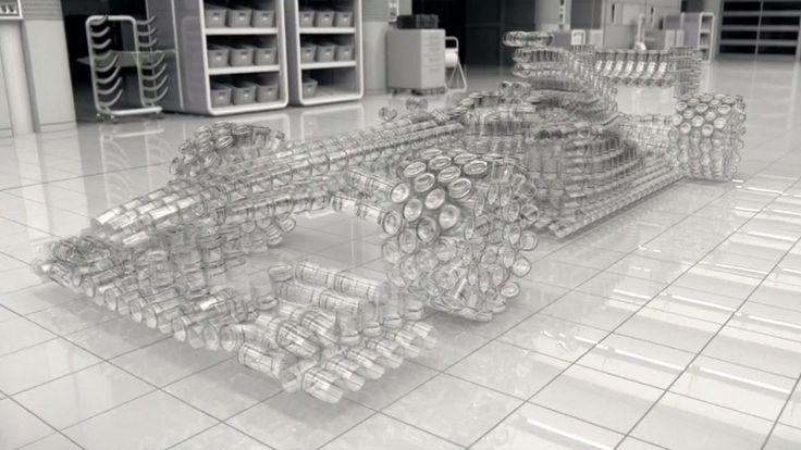 Con un coche de cristal, Johnnie Walker alerta sobre los peligros de #beber y #conducir !