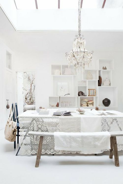 pure and natural dining area